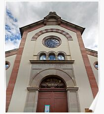 Synagogue of Bergheim Poster