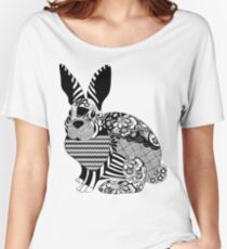 Trippy bunny Women's Relaxed Fit T-Shirt