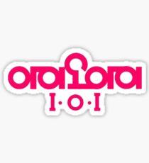 PRODUCE 101 1.o.1 LOGO Sticker