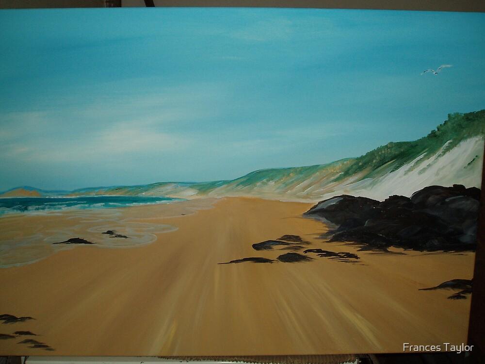 Rainbow Beach by Frances Taylor