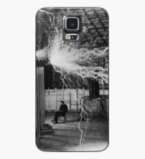 Nikola Tesla - Bolts Of Electricity Case/Skin for Samsung Galaxy