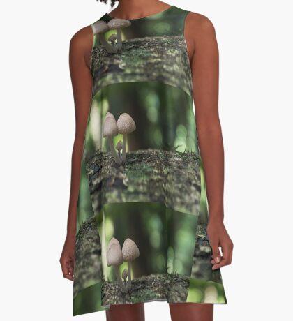Fungi 3.5 A-Line Dress