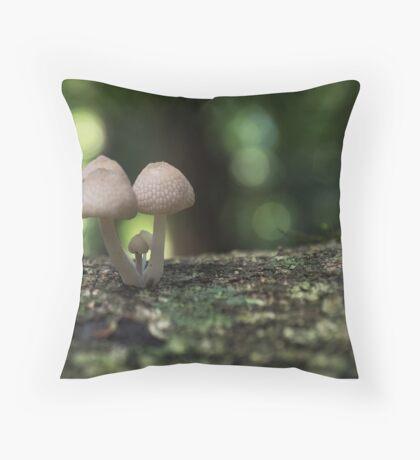 Fungi 3.5 Throw Pillow