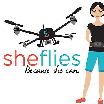 She Flies with girl by SheFlies