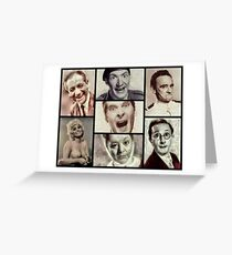 Classic Carry On Comedy Greeting Card