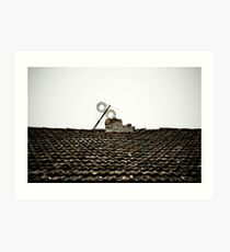 The roof Art Print