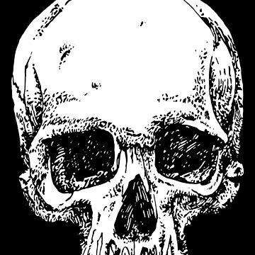 The Mighty Fine Skull by rafbanzuela