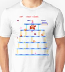 Donkey Kong Rivet Level Unisex T-Shirt