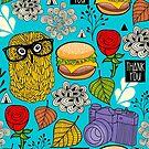 Hamburger by Ekaterina Panova