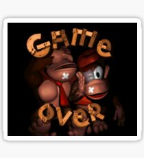 Donkey Kong Game Over Sticker