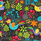 In the garden by Ekaterina Panova