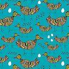 Colorful birds by Ekaterina Panova