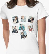 BTS Du gehst nie alleine Tailliertes T-Shirt für Frauen
