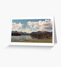 Lake District sky Greeting Card