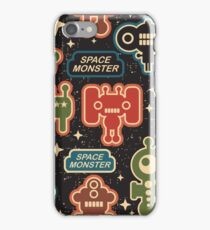 Space monster iPhone Case/Skin