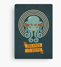 Cthulhu, Dreamer in the Deeps Canvas Print