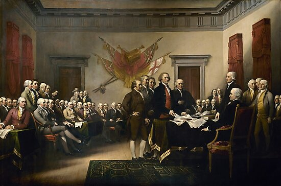 Signing The Declaration Of Independence by warishellstore