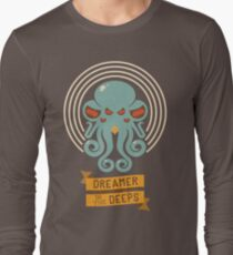 Cthulhu, Dreamer in the Deeps Long Sleeve T-Shirt