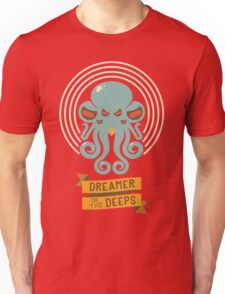 Cthulhu, Dreamer in the Deeps Unisex T-Shirt