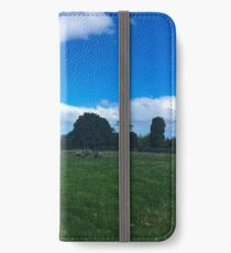 Sheep On One Tree Hill iPhone Wallet/Case/Skin
