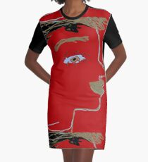 Bronde Girl, by Mickeys Art And Design.Biz Graphic T-Shirt Dress