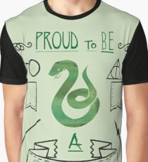 Proud to be a Slytherin Graphic T-Shirt