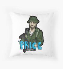 Captain Price Throw Pillow