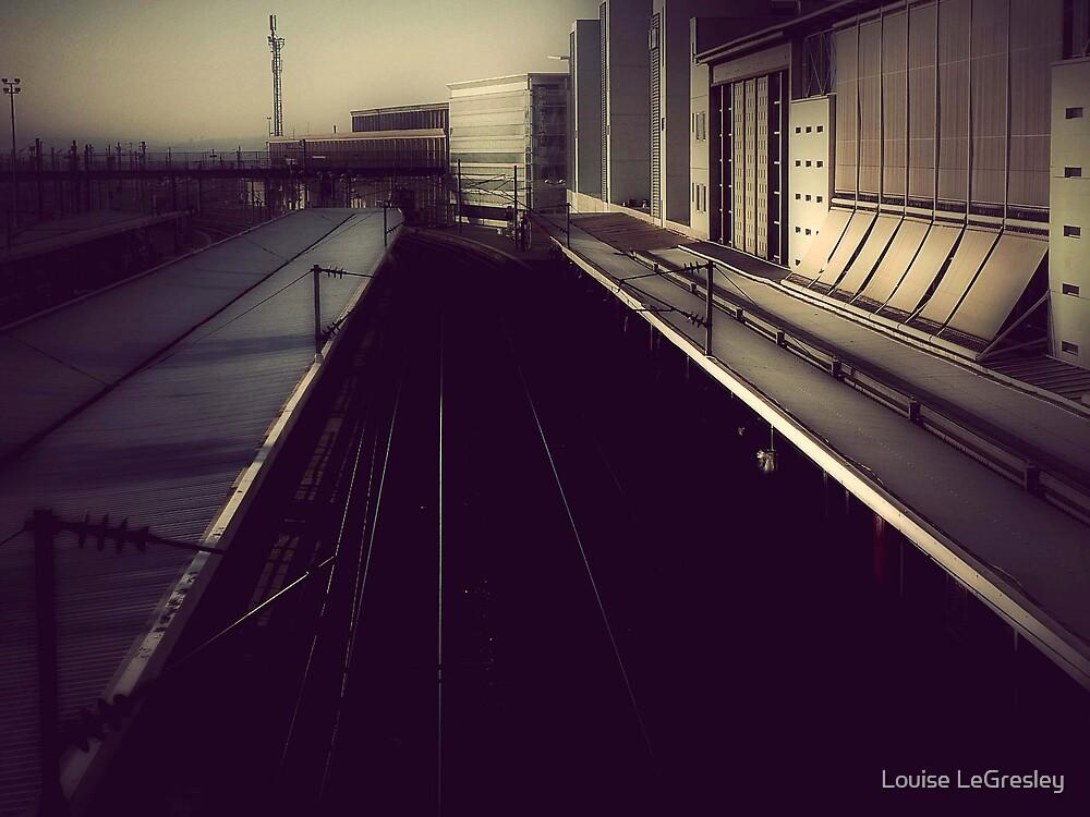 { train station } by Louise LeGresley