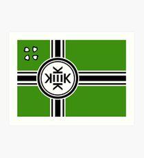 Official flag of Kekistan Art Print