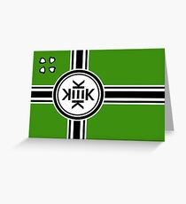 Official flag of Kekistan Greeting Card