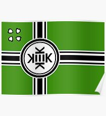 Official flag of Kekistan Poster