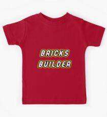 Master builder of bricks Kids Tee