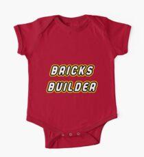 Master builder of bricks Kids Clothes