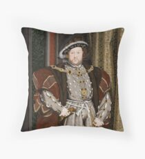 Henry VIII of England Throw Pillow