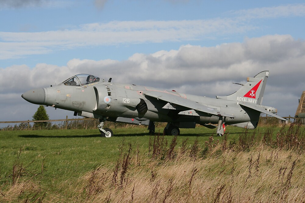 Sea Harrier by PhilEAF92