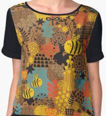 The bee Chiffon Top
