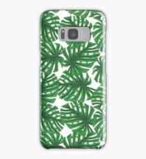 Monstera Pattern Samsung Galaxy Case/Skin