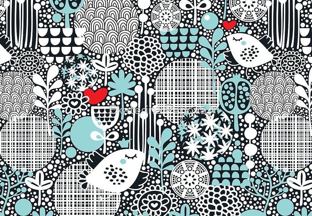 White bird by Ekaterina Panova