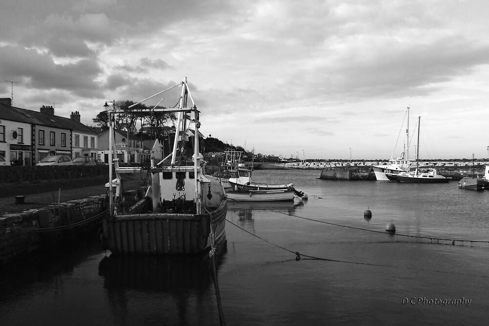 Boats in Cushendall by Darren Carey