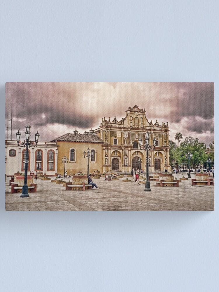 Alternate view of Guatemalan Church Canvas Print