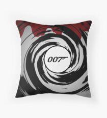 007 Throw Pillow
