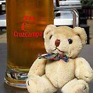 Teddy Needs A Drink ! by wiggyofipswich