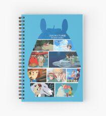 Totoro-Hayao Miyazaki Films Spiral Notebook