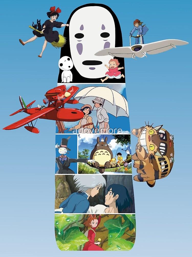 No Face-Hayao Miyazaki Films by adovemore