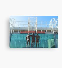 Manchester United, East Stand, Old Trafford Manchester Canvas Print