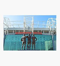 Manchester United, East Stand, Old Trafford Manchester Photographic Print