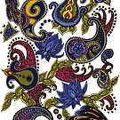 Paisley of '71 - original by Carrie Dennison