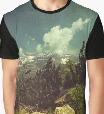 Italian Mountains Graphic T-Shirt