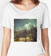 Italian Mountains Women's Relaxed Fit T-Shirt