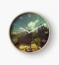 Italian Mountains Clock